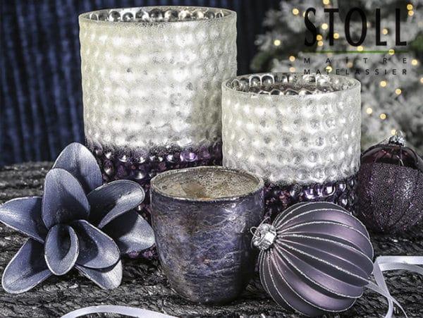Décoration Vase de Noël